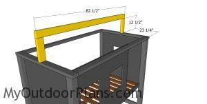 Ridge beam - cabin bed