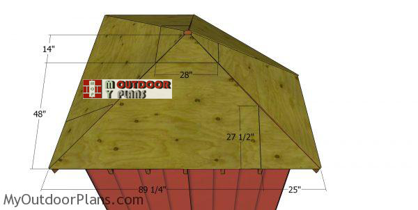 Roof-sheets---5-sided-shed