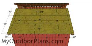 Shed roof - part 2