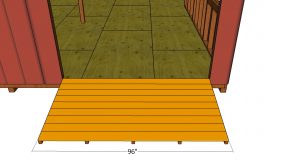 Ramp Plans for Double Pitched Roof Shed