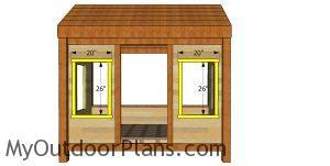 Window trims - cabin bed
