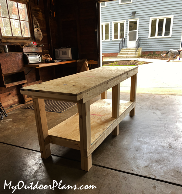 DIY Project - 6 Foot Workbench