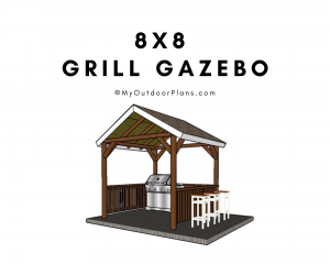 8x8 Grill Gazebo Plans