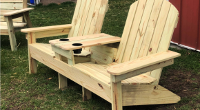 DIY Project – Double Adirondack Chair Bench