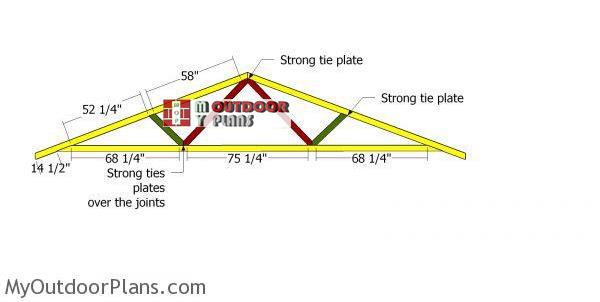 Assembling-20-ft-truss