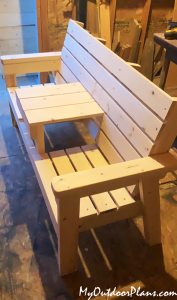 Build-a-double-chair-bench
