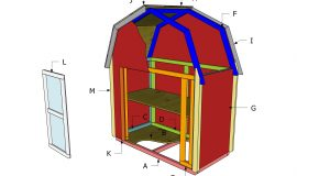 2×4 Barn Display Case Plans – Part 2