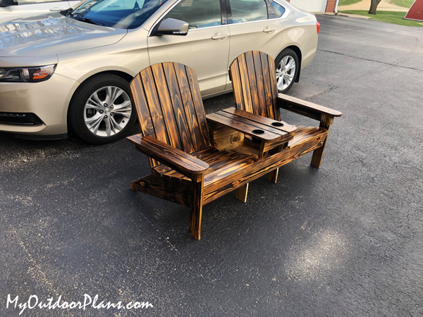 DIY-Adirondack-Double-Chair-Bench