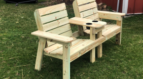 DIY Project – Large Double Chair Bench