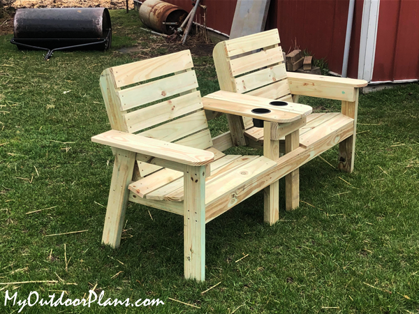 DIY Project - Large Double Chair Bench