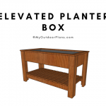 Elevated-planter-box
