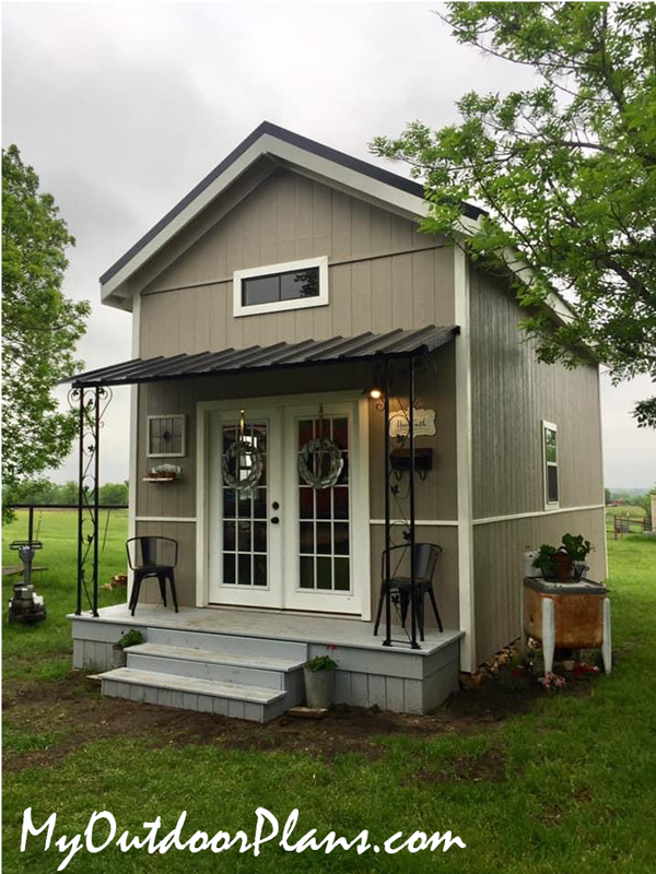 DIY 12x24 Tiny House with Loft