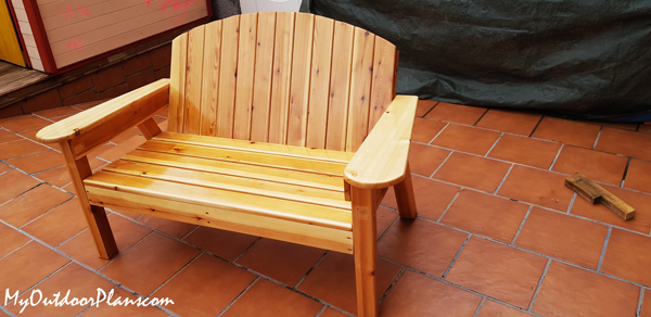 DIY Project - Adirondack Bench