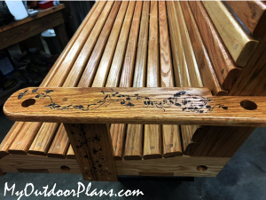 How-to-make-a-porch-swing-bench