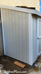 Lean-to-shed---diy
