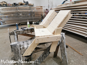 Modern-double-chair-bench---diy-project
