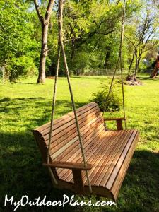 Red-Oak-Swing-Bench