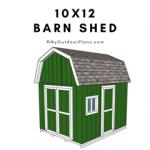 10x12-Barn-Shed-Plans