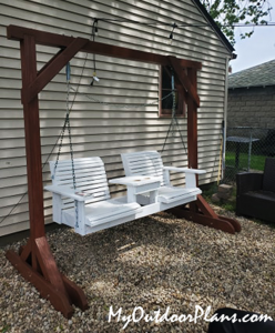 Building-a-porch-swing-stand