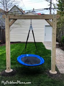 DIY-2-Post-Swing-Frame