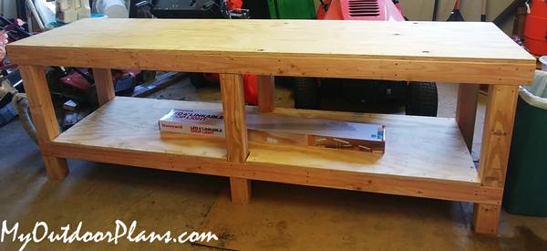 DIY-8-ft-Workbench