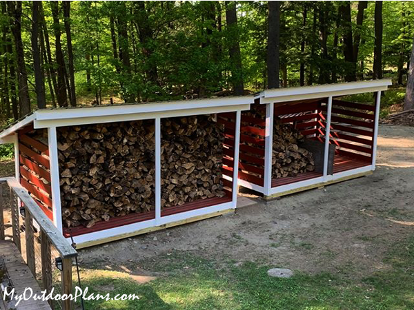 How to Build a Large Firewood Storage Shed