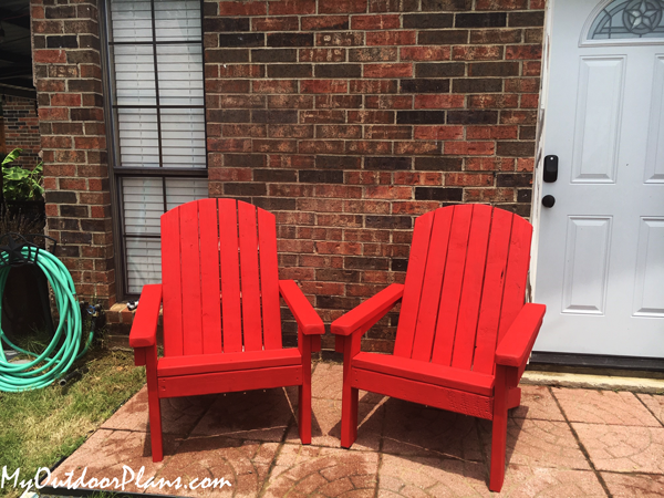 How to Build a 2x4 Adirondack Chair
