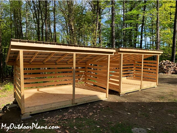 How-to-build-a-3-cord-firewood-shed