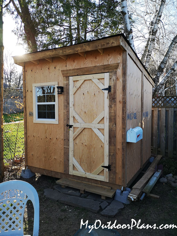 How to Build a 8x8 Lean to Shed