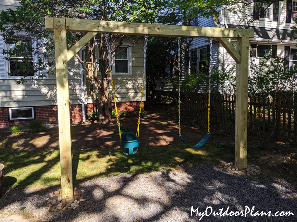 DIY Simple Swing Set