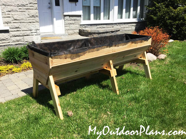 DIY Vegetable Trug