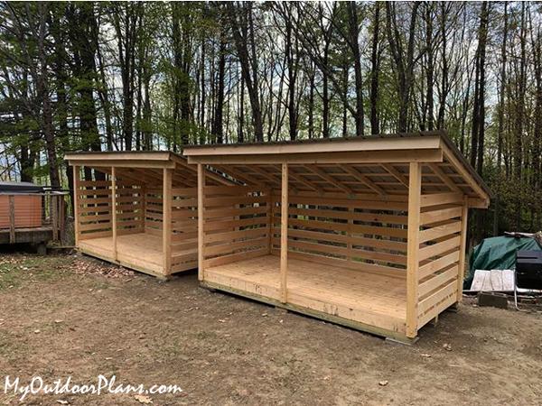 Wood-storage-shed---diy-shed
