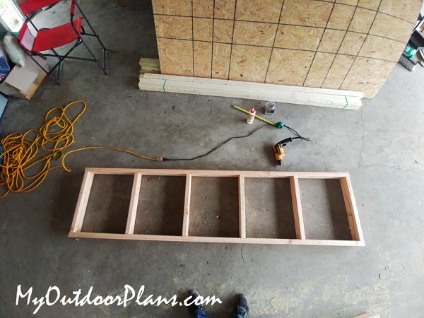 Work-bench-frame