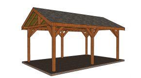 12×20 Pavilion – Free DIY Plans