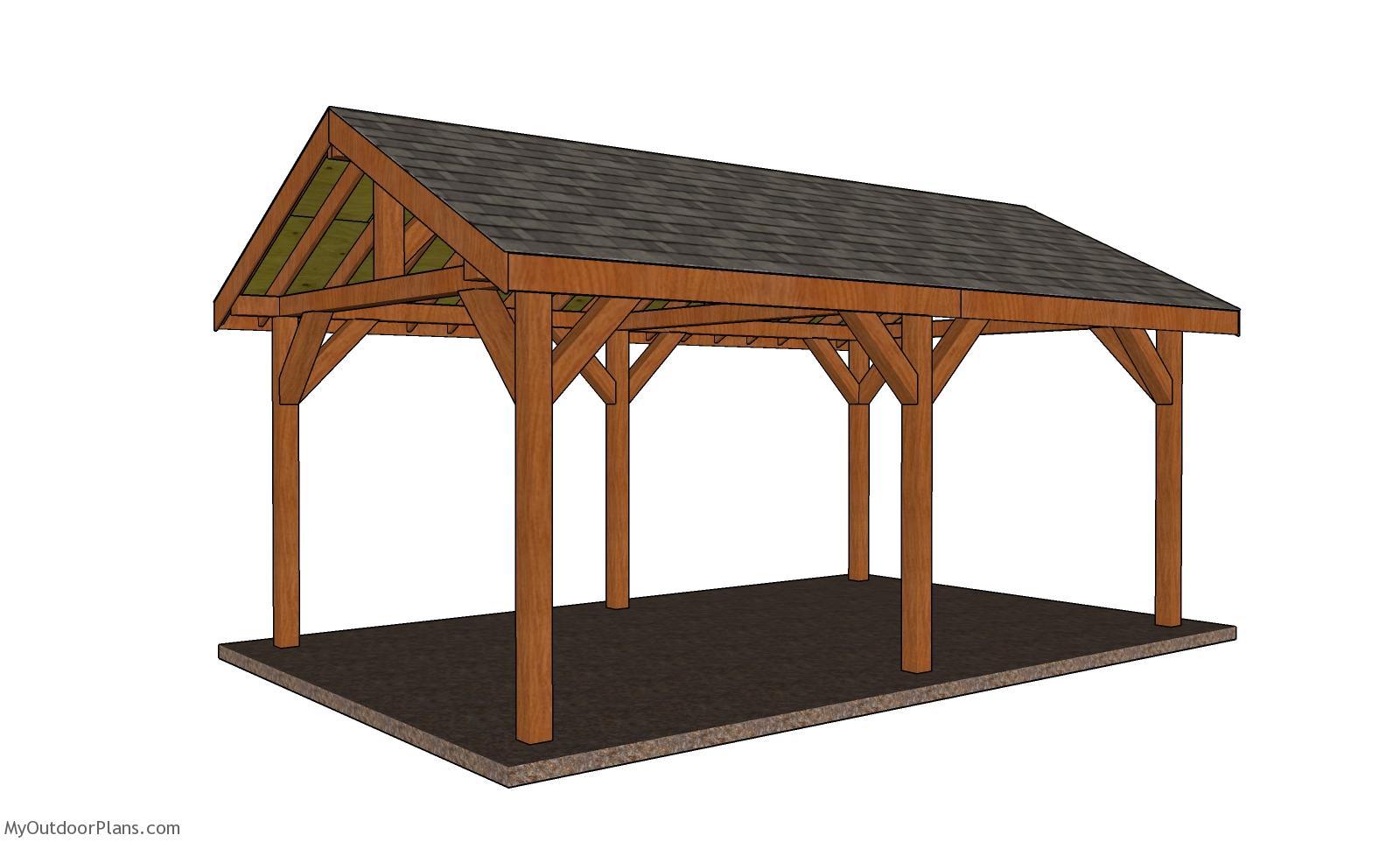 12x20 Pavilion - Free DIY Plans