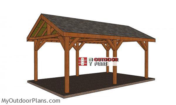 12x20 Pavilion Free Diy Plans, Outdoor Pavilion Plans