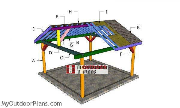 16x16-gable-pavilion-plans