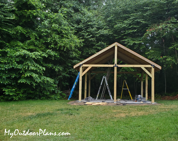 DIY Project - 16x16 Pavilion