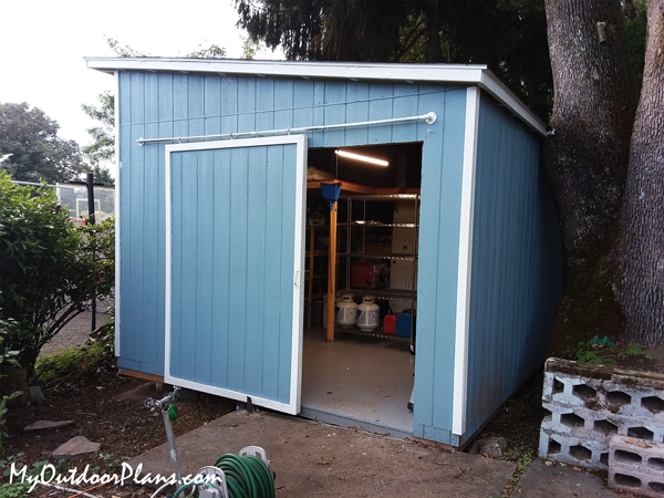 DIY Project - 12x16 Lean to Shed