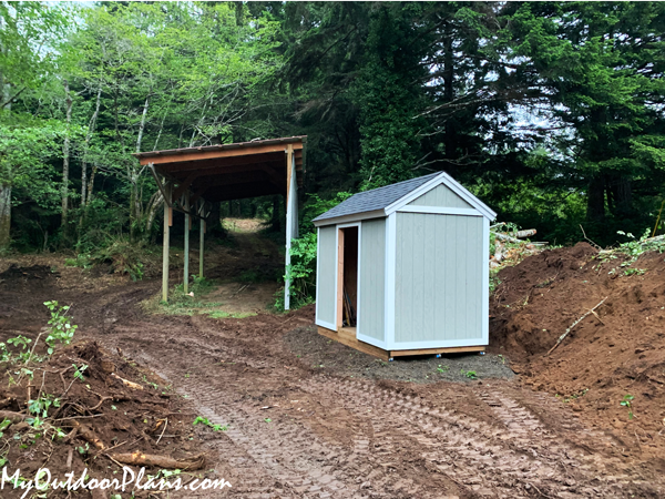 6x10 Gable Roof Shed - DIY Project