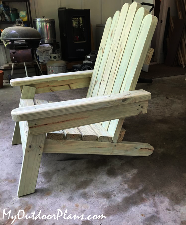 DIY Project - Adirondack Chair from 2x4