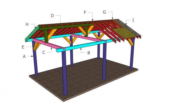 Building a 12x20 pavilion