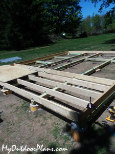 Building-the-floor-of-the-16x20-shed