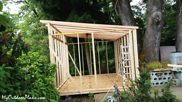 DIY-12x16-Lean-to-Shed