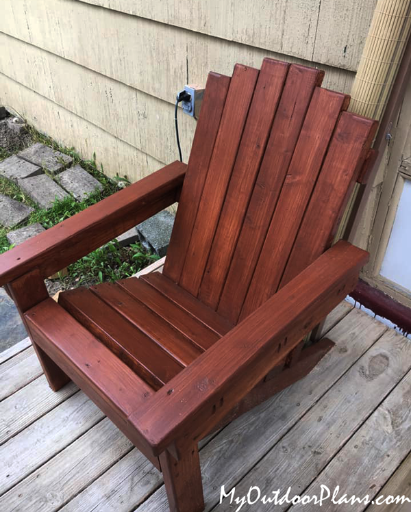 DIY Project - Adirondack Chair made from 2x4s