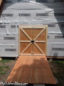 DIY-Double-shed-doors
