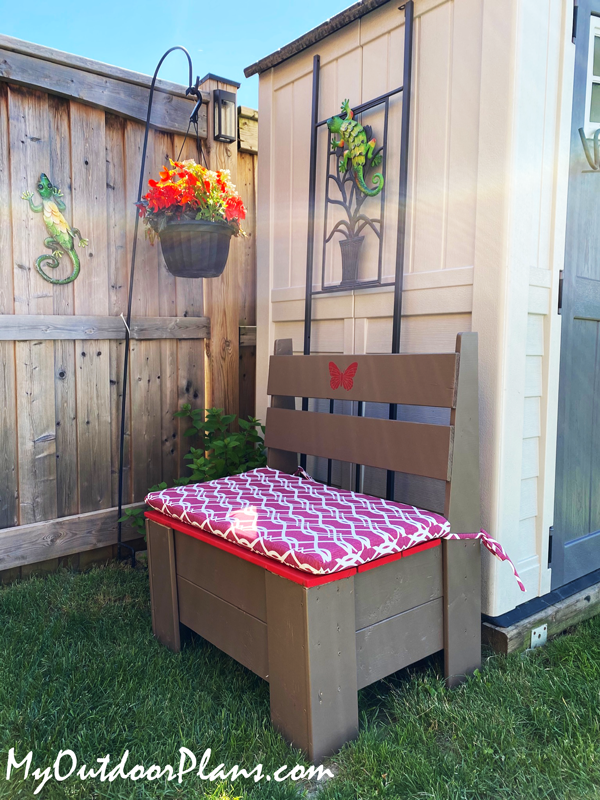 DIY Project - Outdoor Storage Bench