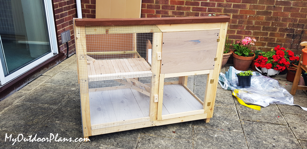 DIY Project - Rabbit Hutch