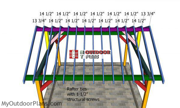 Fitting-the-rafters-to-the-pavilion