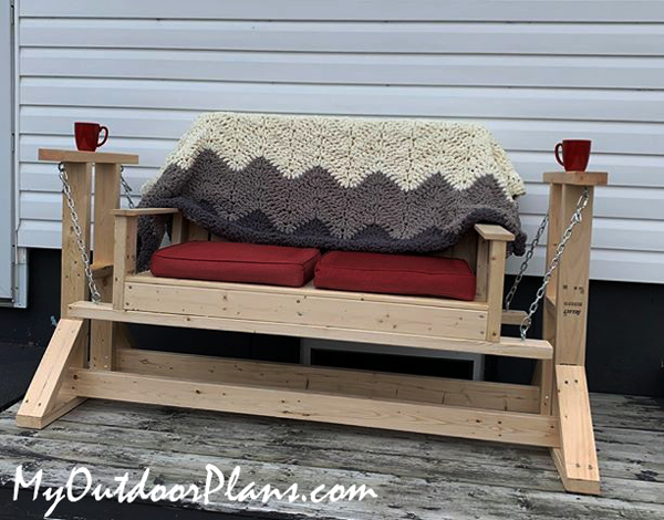 DIY Project - Glider Swing Stand with Bench